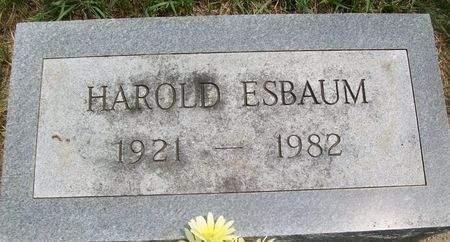 ESBAUM, HAROLD - Cedar County, Iowa | HAROLD ESBAUM
