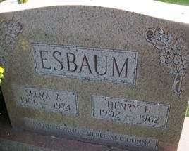 ESBAUM, SELMA A. - Cedar County, Iowa | SELMA A. ESBAUM