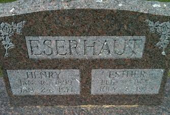 ESERHAUT, HENRY - Cedar County, Iowa | HENRY ESERHAUT