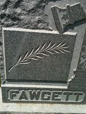 FAWCETT, FAMILY MONUMENT - Cedar County, Iowa | FAMILY MONUMENT FAWCETT