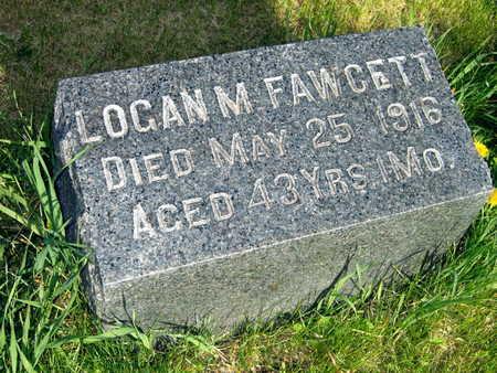 FAWCETT, LOGAN M. - Cedar County, Iowa | LOGAN M. FAWCETT