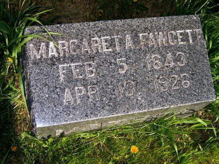 FAWCETT, MARGARET A. - Cedar County, Iowa | MARGARET A. FAWCETT