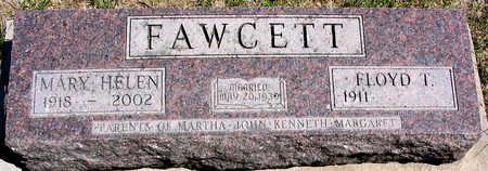 FAWCETT, MARY HELEN - Cedar County, Iowa   MARY HELEN FAWCETT