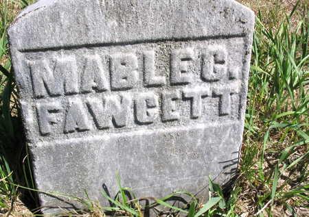 FAWCETT, MABLE C. - Cedar County, Iowa | MABLE C. FAWCETT