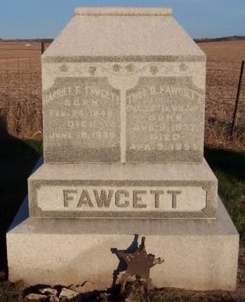 FAWCETT, HARRIET R. - Cedar County, Iowa | HARRIET R. FAWCETT