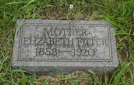 FILTER/FELTER, ELIZABETH - Cedar County, Iowa | ELIZABETH FILTER/FELTER