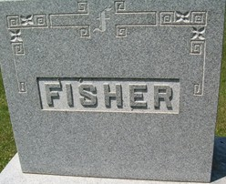 FISHER, FAMILY MONUMENT - Cedar County, Iowa | FAMILY MONUMENT FISHER