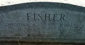 FISHER, JOHN J. J. - Cedar County, Iowa | JOHN J. J. FISHER