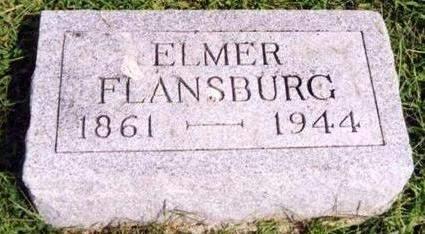 FLANSBURG, ELMER E. - Cedar County, Iowa | ELMER E. FLANSBURG