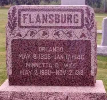 FLANSBURG, ORLANDO - Cedar County, Iowa | ORLANDO FLANSBURG