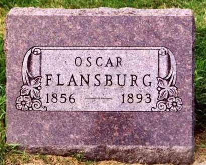 FLANSBURG, OSCAR F. - Cedar County, Iowa | OSCAR F. FLANSBURG