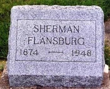 FLANSBURG, SHERMAN - Cedar County, Iowa | SHERMAN FLANSBURG