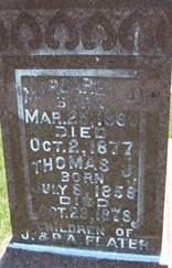 FLATER, MARGARET J. - Cedar County, Iowa | MARGARET J. FLATER