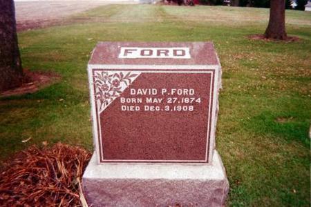 FORD, DAVID P. - Cedar County, Iowa | DAVID P. FORD