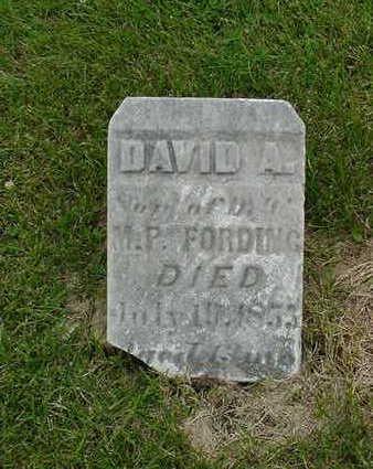 FORDING, DAVID A. - Cedar County, Iowa | DAVID A. FORDING