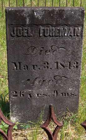 FOREMAN, JOEL - Cedar County, Iowa | JOEL FOREMAN