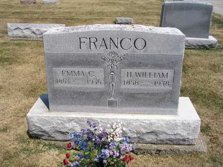 FRANCO, H. WILLIAM - Cedar County, Iowa | H. WILLIAM FRANCO