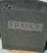 FRANCY, FAMILY MONUMENT - Cedar County, Iowa | FAMILY MONUMENT FRANCY