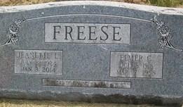 FREESE, ELMER C. - Cedar County, Iowa | ELMER C. FREESE