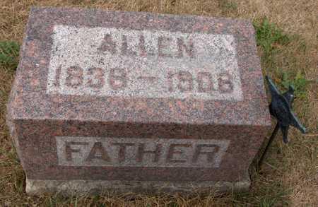 FRINK, ALLEN - Cedar County, Iowa   ALLEN FRINK