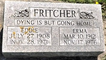 FRITCHER, ERMA ROSE - Cedar County, Iowa | ERMA ROSE FRITCHER