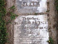 FRITCHER, JOHN - Cedar County, Iowa   JOHN FRITCHER