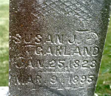 GARLAND, SUSAN J. - Cedar County, Iowa   SUSAN J. GARLAND