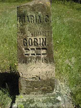 GOBIN, MARIA G. - Cedar County, Iowa | MARIA G. GOBIN