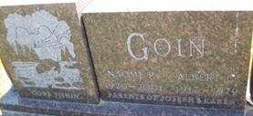 GOIN, ALBERT C. - Cedar County, Iowa | ALBERT C. GOIN