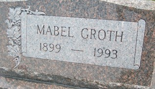 GROTH, MABEL - Cedar County, Iowa | MABEL GROTH