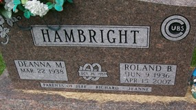 HAMBRIGHT, ROLAND B.
