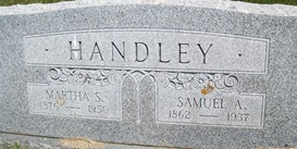 HANDLEY, MARTHA S. - Cedar County, Iowa | MARTHA S. HANDLEY