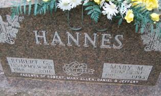 HANNES, MARY M. - Cedar County, Iowa | MARY M. HANNES