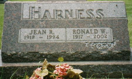 HARNESS, JEAN - Cedar County, Iowa | JEAN HARNESS