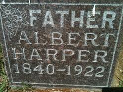 HARPER, ALBERT - Cedar County, Iowa | ALBERT HARPER