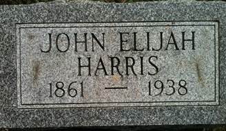 HARRIS, JOHN EIJAH - Cedar County, Iowa   JOHN EIJAH HARRIS