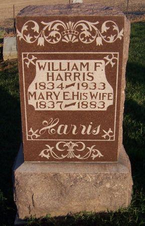 HARRIS, WILLIAM F. - Cedar County, Iowa | WILLIAM F. HARRIS