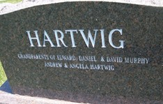 HARTWIG, FAMILY MONUMENT - Cedar County, Iowa | FAMILY MONUMENT HARTWIG
