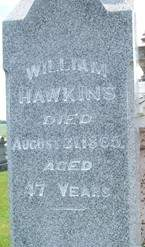 HAWKINS, WILLIAM - Cedar County, Iowa | WILLIAM HAWKINS