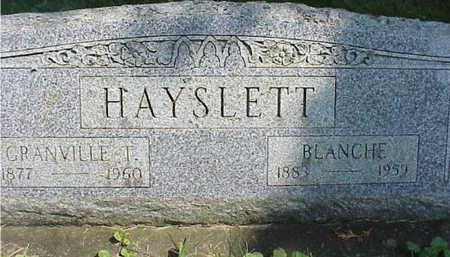 HAYSLETT, GRANDVILLE - Cedar County, Iowa | GRANDVILLE HAYSLETT