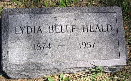 HEALD, LYDIA BELLE - Cedar County, Iowa | LYDIA BELLE HEALD