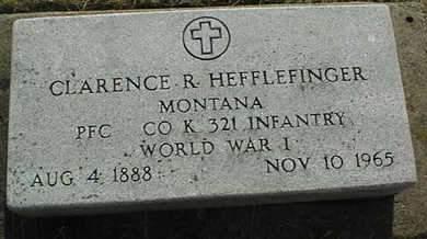 HEFFLEFINGER, CLARENCE R. - Cedar County, Iowa | CLARENCE R. HEFFLEFINGER