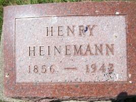 HEINEMANN, HENRY - Cedar County, Iowa | HENRY HEINEMANN