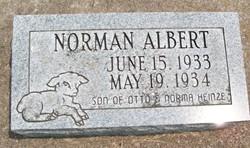HEINZE, NORMAN ALBERT - Cedar County, Iowa   NORMAN ALBERT HEINZE