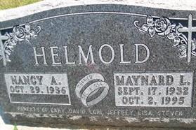 HELMOLD, MAYNARD L. - Cedar County, Iowa | MAYNARD L. HELMOLD