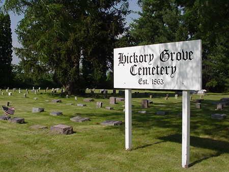 HICKORY GROVE, CEMETERY - Cedar County, Iowa | CEMETERY HICKORY GROVE