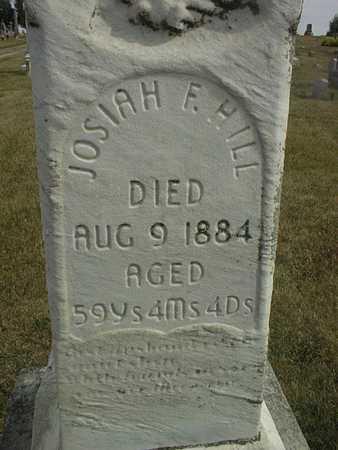 HILL, JOSIAH F. - Cedar County, Iowa | JOSIAH F. HILL