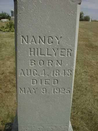 HILLYER, NANCY - Cedar County, Iowa   NANCY HILLYER