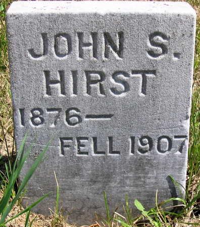 HIRST, JOHN S. - Cedar County, Iowa | JOHN S. HIRST