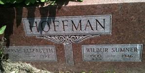 HOFFMAN, WILBUR SUMNER - Cedar County, Iowa | WILBUR SUMNER HOFFMAN